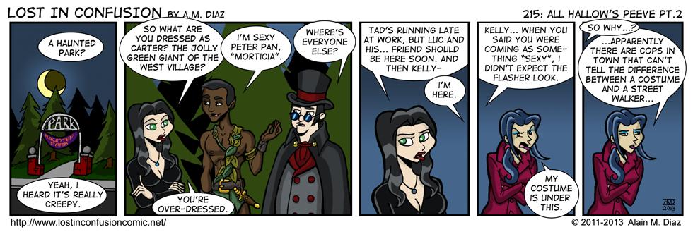 lic 215 Addams Family – Lost in Confusion