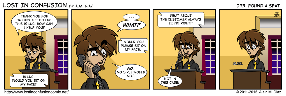 This is not what they mean by customer service.